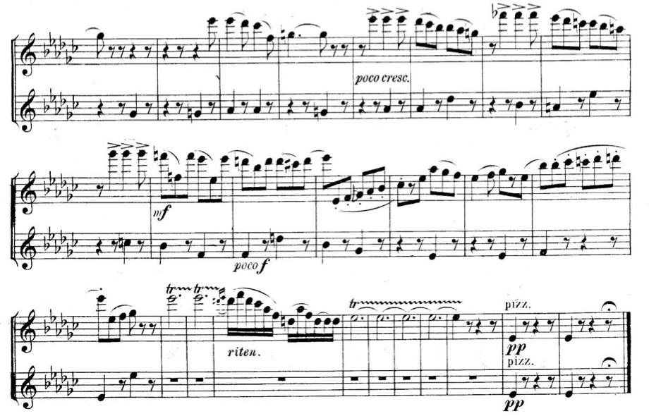 Tchaikovsky: Swan Lake Violin Excerpt (Suite No  4