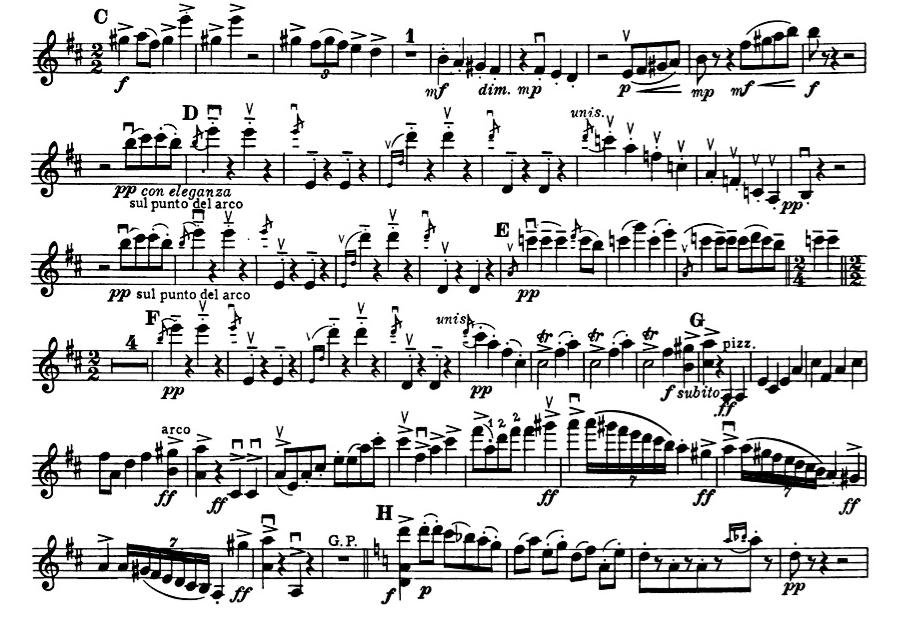 prokofiev gavotte